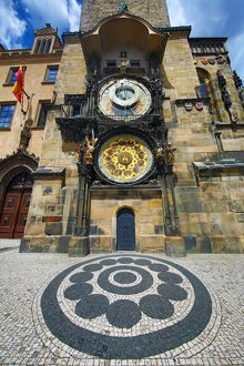 The Orloj Astronomical Clock, Old Town City Hall, Prague