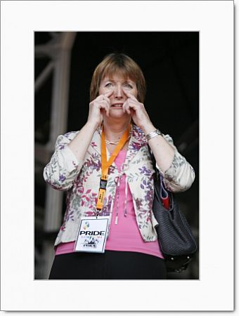 Harriet Harman at London Gay Pride Parade 2009