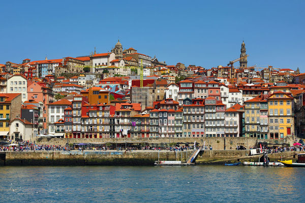 The city of Porto and the River Douro, Portugal