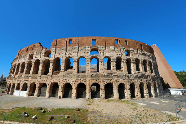 The Colosseum amphitheatre, Rome, Italy