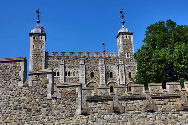 The White Tower in the Tower of London, London