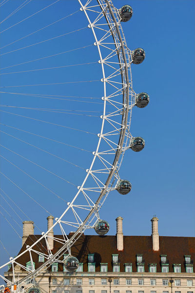 The London Eye on the Southbank, London, England