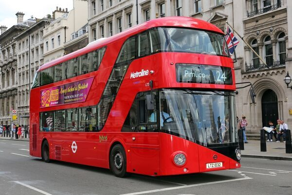 New Routemaster Red London double-decker bus aka the Boris Bus