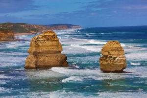 The Twelve Apostles limestone stacks, Port Campbell National Park, Great Ocean Road