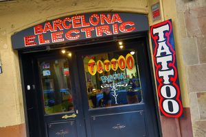 Barcelona Electric Tattoo Parlour, Barcelona, Spain