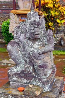 Batuan village temple and Indonesian architecture, Bali, Indonesia