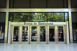 Borsa de Barcelona stock exchange, Barcelona, Spain
