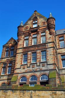 Castle Hill School in Edinburgh, Scotland, United Kingdom