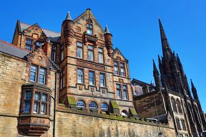 Castle Hill School and the The Hub in Edinburgh, Scotland, United Kingdom