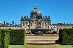 Castle Howard stately home near York, North Yorkshire, England