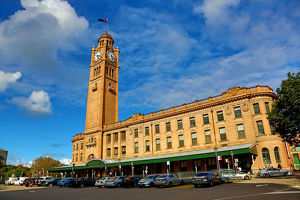 Central Station and Clock Tower, Sydney, New South Wales, Australia