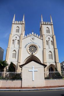 Church of St. Francis Xavier in Malacca, Malaysia