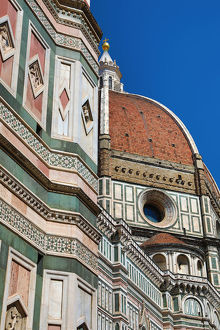 florence italy/dome duomo cathedral santa maria del fiore florence