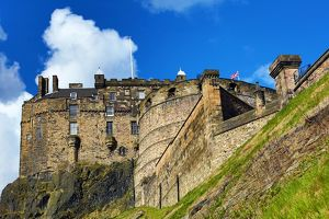 Edinburgh Castle in Edinburgh, Scotland, United Kingdom