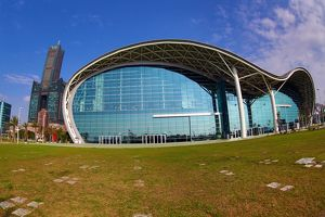 Kaohsiung Exhibition Centre and 85 Sky Tower Hotel, Kaohsiung, Taiwan