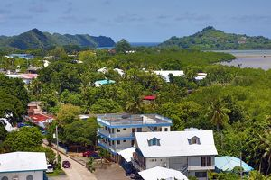 Koror town and islands, Koror Island, Republic of Palau, Micronesia, Pacific Ocean