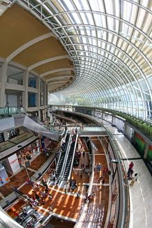 Marina Bay Sands shopping centre and shops in Singapore, Republic of Singapore
