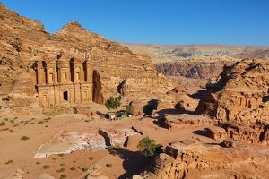 The Monastery, Ad-Deir, in the rock city of Petra, Jordan