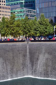 National September 11 Memorial for 9/11, New York. America