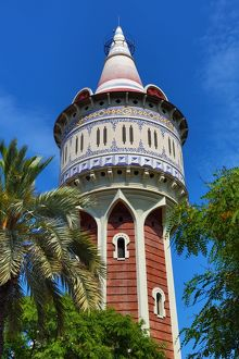 Old Water Tower, Parc de la Barceloneta, Barcelona, Spain
