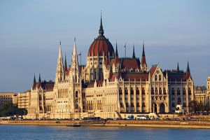 The Orszaghaz, the Hungarian Parliament Building in Budapest