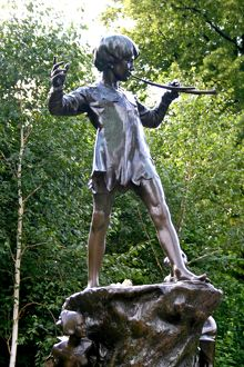 Peter Pan Statue, Hyde Park, London