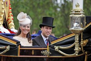 Prince William and Kate, Duke and Duchess of Cambridge, Diamond Jubilee
