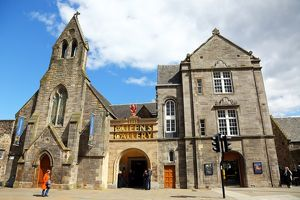 The Queen's Gallery at Holyrood House on the Royal Mile in Edinburgh, Scotland, United