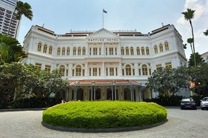 The Raffles Hotel in Singapore, Republic of Singapore