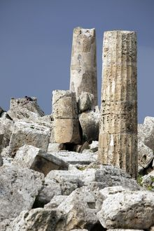 Ruins of Selinunte, Sicily, Italy