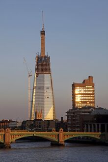 The Shard office block in London