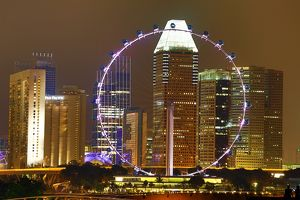 Singapore Flyer observation wheel, Singapore, Republic of Singapore