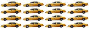 Souvenir Yellow New York Taxi Cab