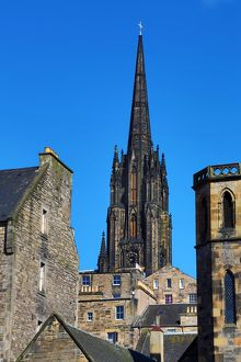 Spire of The Hub, formerly, the Victoria Hall and Highland Tolbooth St. John's Church