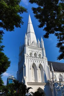St Andrews Cathedral in Singapore, Republic of Singapore