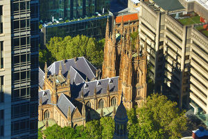 St Andrew's Cathedral, Sydney, New South Wales, Australia