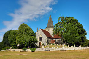 St Andrew's Church, Alfriston, West Sussex, England, United Kingdom