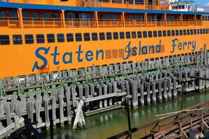 The Staten Island Ferry, New York. America