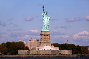 Statue of Liberty, New York. America