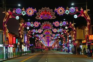 Street lights for Diwali in Singapore, Republic of Singapore