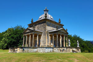 Temple of the Winds at Castle Howard stately home near York, North Yorkshire, England