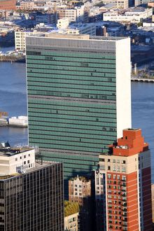 United Nations Building, New York. America
