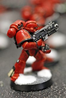 Warhammer 40K Model space marine