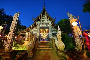 Wat Lok Molee Temple in Chiang Mai, Thailand