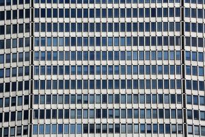 Windows on the MetLife Building, New York. America