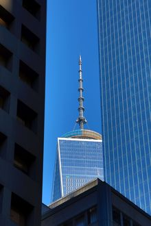 One World Trade Center ( 1 WTC ) building, New York. America