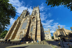 York Minster Cathedral in York, Yorkshire, England