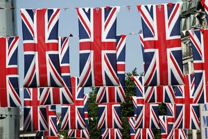 <b>Diamond Jubilee Flags</b><br>Selection of 28 items